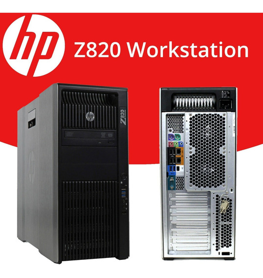 Workstation Hp Z820 Intel Xeon E5-2640 128gb 480gb Ssd + 1tb