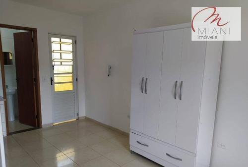 Kitnet Com 1 Dormitório Para Alugar, 18 M² Por R$ 1.200,00/mês - Vila Indiana - São Paulo/sp - Kn0291
