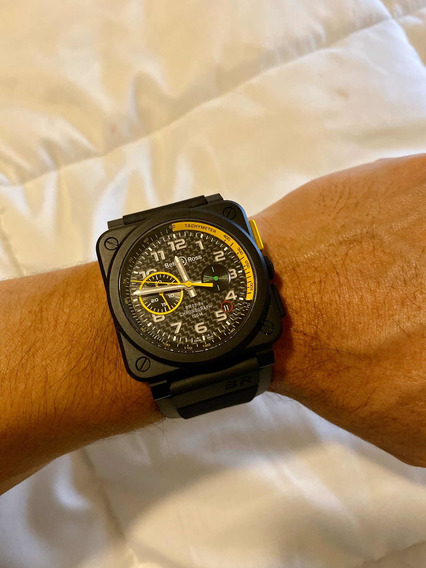 Reloj Original Bell & Ross Edición Limitada Br03-94 Rs17