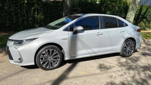 Toyota Corolla Hv 1.8 Seg Ecvt Hibrido 2021 Plata Automatic
