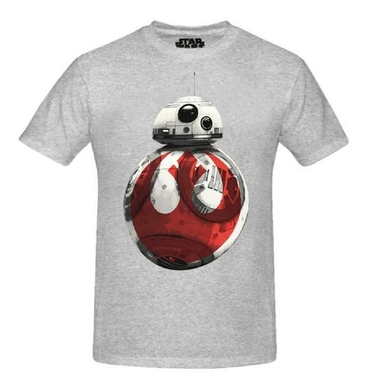 Bb-8 Remera Star Wars Original Disney Lucasfilm