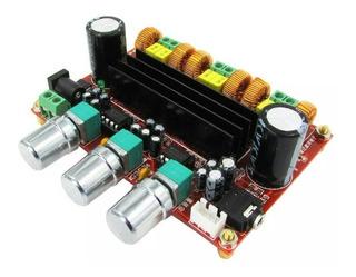 Amplificador 2.1 200w, Modulo Usb Bluetooth Y Fuente 24v