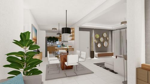 Imagen 1 de 6 de Comodo Apartamento En Tercer Nivel