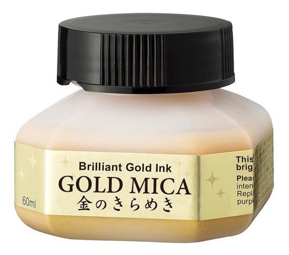 Tinta Dorada Super Pigm. Kuretake Gold Mica