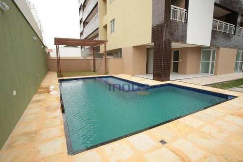 Imagem 1 de 14 de Apartamento Com 3 Dormitórios À Venda, 78 M² Por R$ 338.693,81 - Jacarecanga - Fortaleza/ce - Ap0098