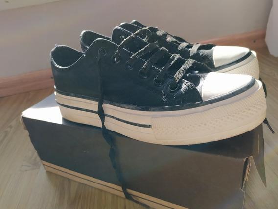 Zapatillas Símil Converse Cuero