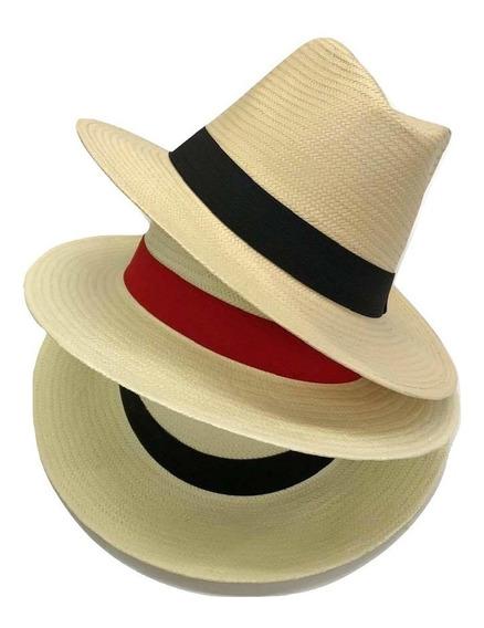 Chapéu Aba Longa Moda Panamá Clássico Casual Praia Unissex