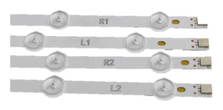 Kit Tiras De Led Tv Lg 42ln5700 / 42la6130 / 42la6200 Nuevo