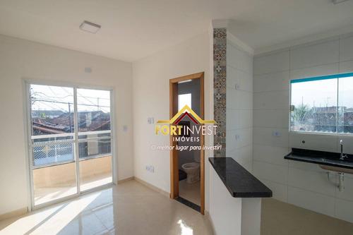 Casa Com 2 Dormitórios À Venda, 52 M² Por R$ 190.000,00 - Maracanã - Praia Grande/sp - Ca0321