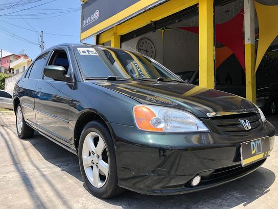 Honda Civic 1.7 Lx Automático 4p - 2002/2002