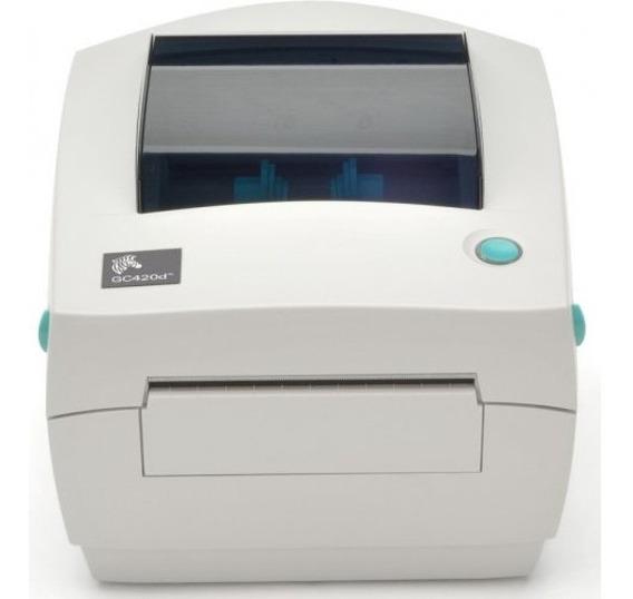 Impressora De Etiquetas Zebra Gc420t Térmica Foco Automação