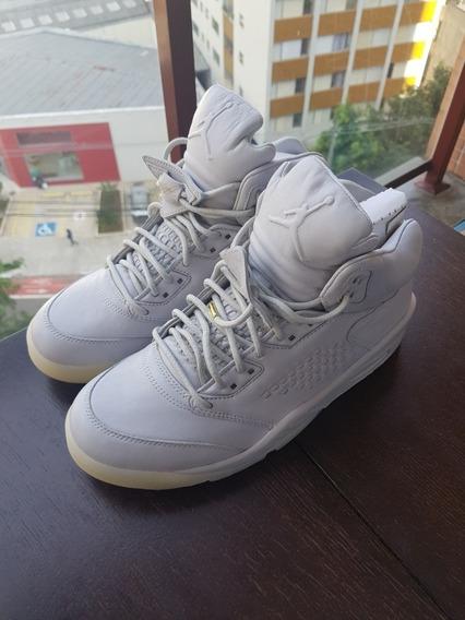 Nike Air Jordan V 5 Retro Pure Platinum Premium Leather