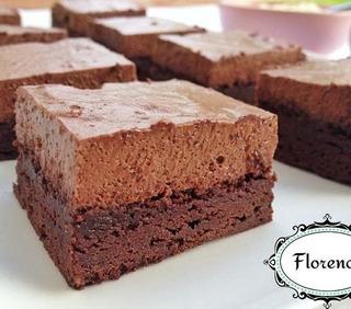 Brownie De Moka Con Harina Integral