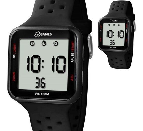 Relógio Xgames Digital Quadrado Original Modelo Xgppd090