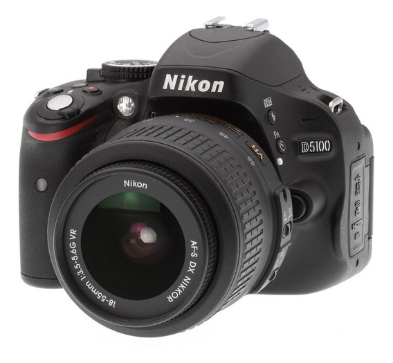 Camera Nikon D5100 Com Lente 35mm