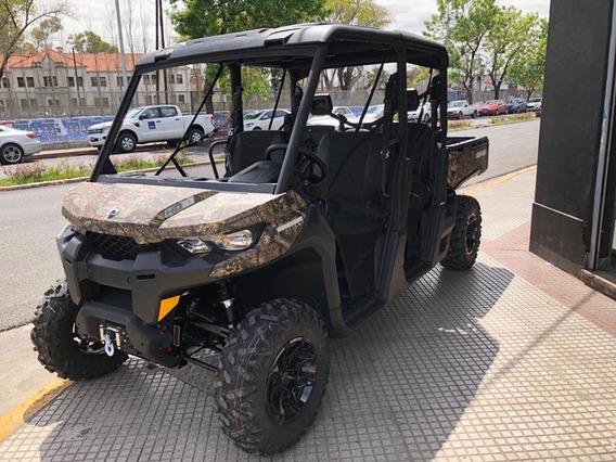 Can Am Defender Hd10 Max 6 Plazas Camuflado