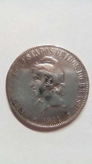 Moeda 2000 Reis 1911