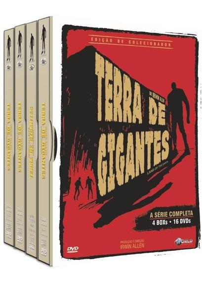 Dvd Terra De Gigantes A Serie Completa, 16 Discos