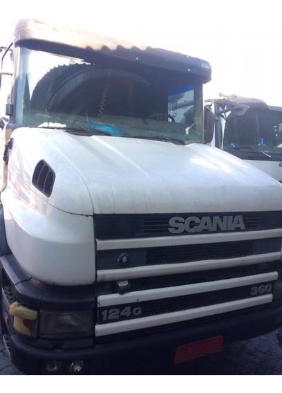 Scania T 124 360 - 4x2 - 2001 - Pronta Entrega