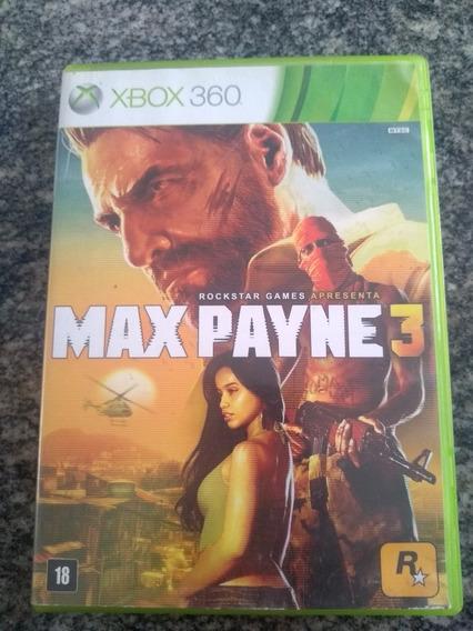 Max Payne - Xbox 360 Original Em Mídia Fisica