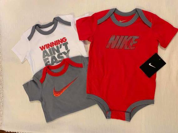 Body Nike Bebé Camisetas Niño 3 Piezas