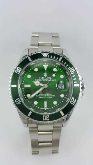 Relógio Rlx Submariner Verde