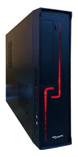Pc Intel Core I5 4gb Hd 500gb 220v Gabinete Slim