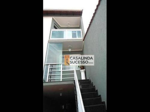 Sobrado 150m² 3 Dorms/4 Vgs - Próx R Novo Aripuanã - Ca1583. - Ca1583