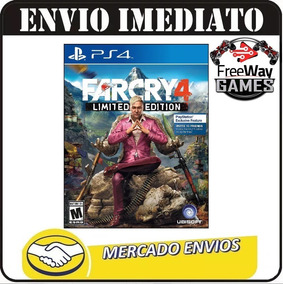 Jogo Mídia Física Far Cry 4 Limited Edition - Ps4