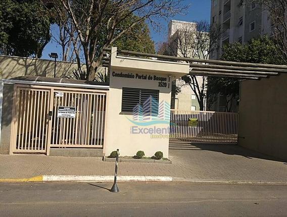 Apartamento Com 2 Dormitórios À Venda, 51 M² Por R$ 265.000,00 - Condomínio Portal Do Bosque - Hortolândia/sp - Ap0279
