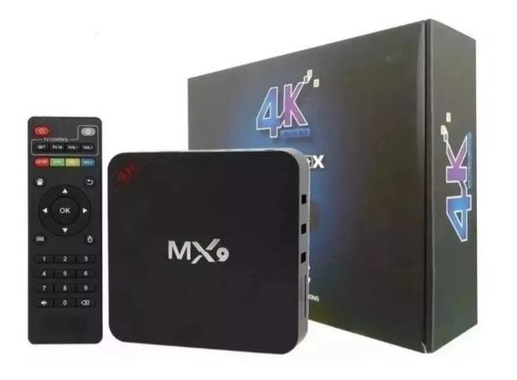 Tv Box Transforma Tv Em Smart Android 4k Pro 3gb/16gb