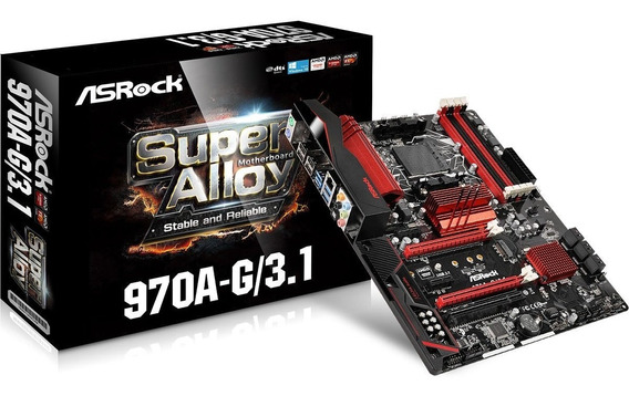 Placa Mãe Gamer Performance Asrock 970a-g/3.1