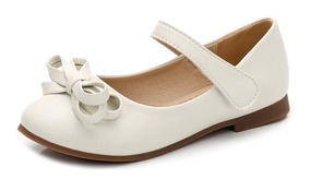 Zapatos Blancos Niña Bautizo - Bazar Amanda