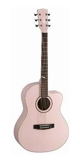 Ultima Con Detalles Guitarra Acustica Cort Jade 2 + Funda