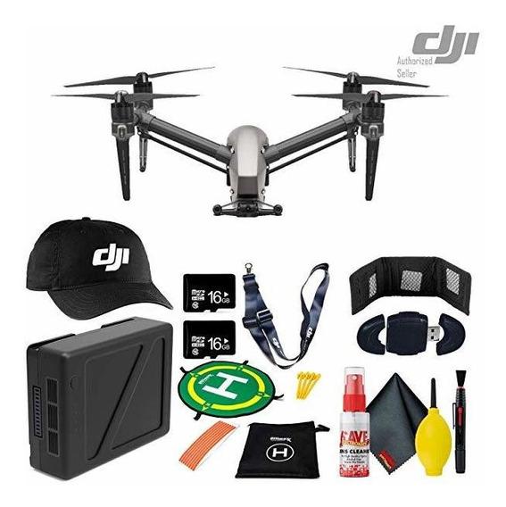 Camara Dji Inspire 2 Quadcopter Tb50 Bateria Dji Cap + Lan ®