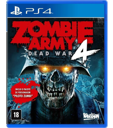 Jogo Zombie Army 4: Dead War - Day One Edition - Ps4