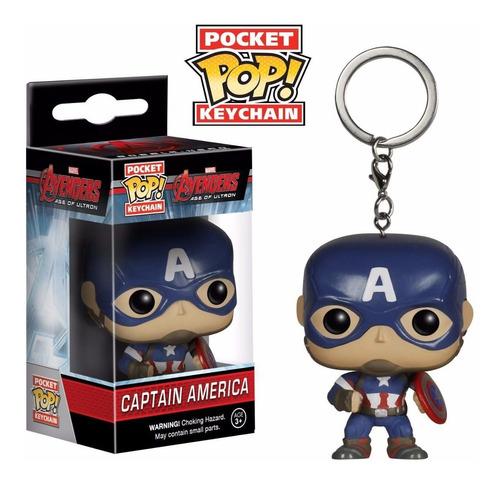 Funko Pop Keychain Captain America Avengers Age Of Ultron