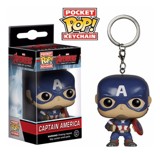 Funko Pop Keychain Captain America Avengers Age Of Ultron