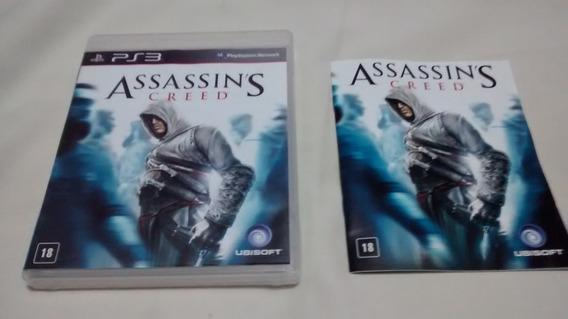 Assassins Creed Original Completo Midia Fisica Ps3