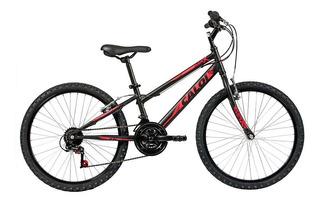 Bicicleta Infanto Juvenil Caloi Max Aro 24 - 21 Vel - Preto