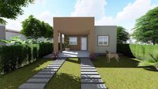 Casa Prefabricada C/ Sistema Wood Framing Diseño Minimalista