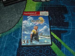 Final Fantasy X Gh 10 En Muy Buen Estado Para Ps2