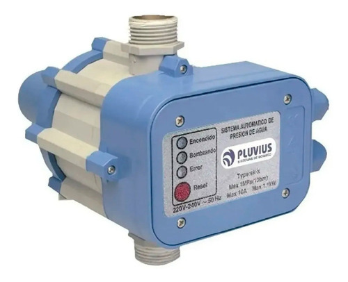 Control Automático Presión Flujo Pluvius Skf396 Presurizador