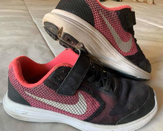 Zapatilla Nike Nena Importada Usa 1 Uk 13.5 Eur 32 Cm 20
