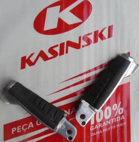 Par Pedaleira Traseira/passageiro Kasinski Prima 150 Novas!!