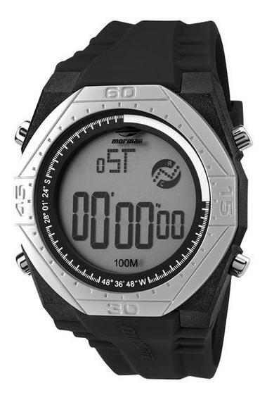 Relógio Mormaii Mo3374c/8p Preto/prata