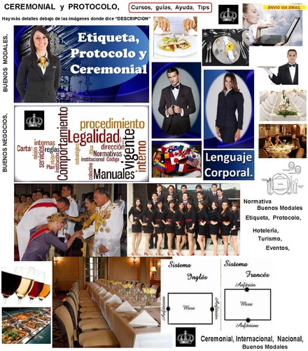 Ceremonial Protocolo Buenos Modales Etiqueta Aprende Tip X57