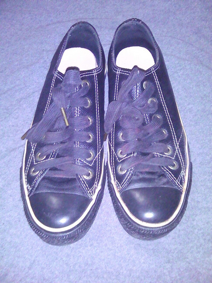 Zapatos Converse All Star De Cuero Talla 38 Americano 5,5 Or