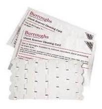 Tarjeta De Limpieza Burroughs (cleaning Card)
