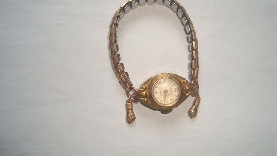 Relogio Lanco 17 Jewels Dourado